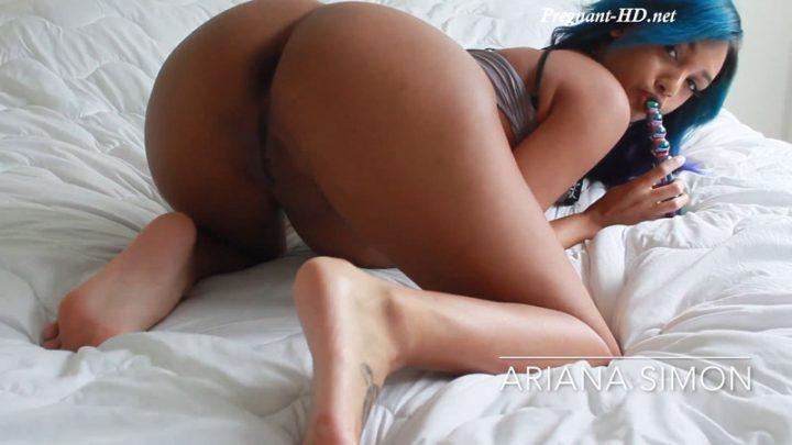 Pregnant Feet Ebony Pussy – Ariana Simon