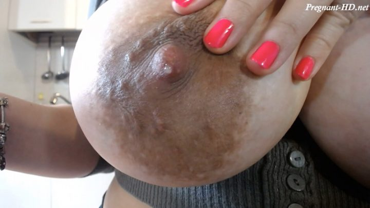 1st Time I milk my boobs 25 weeks – Dolce4you69