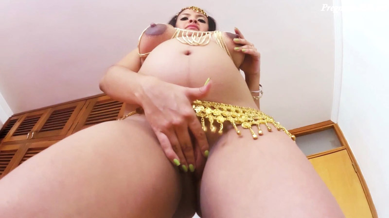 8 Months Pregnant Nude Belly Dance – Luciarayne