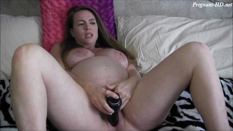9 Months Pregnant Watching Porn – NikkiNevada
