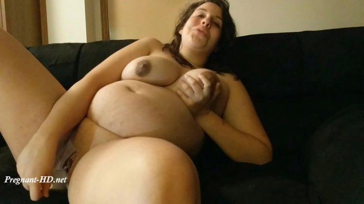 Fucking my pregnant pussy until I cum – Lunala Crystal