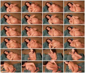Rubbing oil all over my pregnant body – Lunala Crystal_scrlist
