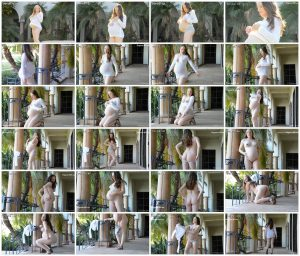 8 Months Pregnant – Audrey – FTVGirls – Aubrey Star – Video 1_thumb