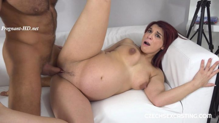 Casting For Pregnant Redhead – CzechSexCasting – Jessica Red