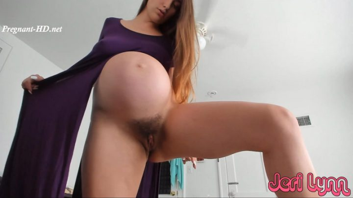8 Months Pregnant Showing Off Sexy Body – Jeri Lynn
