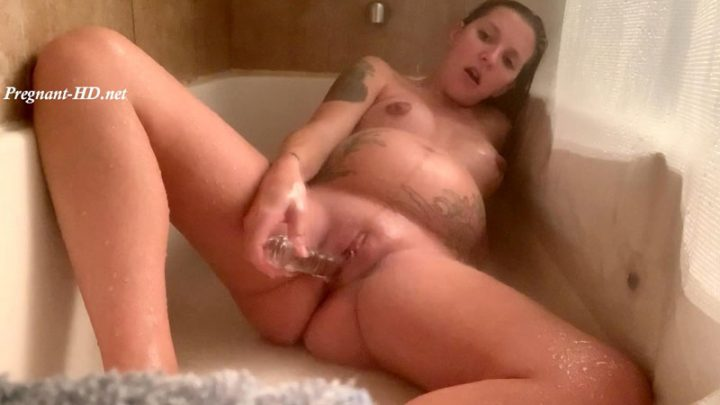 Pregnant and Shower Play – HazeyyG