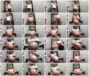 Pregnant fantasy – Belly growing #3 – AlexiaIsPregnant_thumb