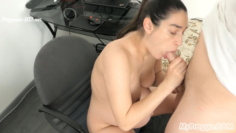 Pregnant Janetta Blackmailed into Sucking Her Step-Brother's Cock! – MyPreggo – Janetta