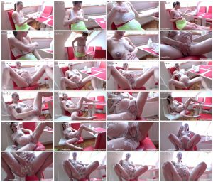 Victoria Cums with Her Naked Body Covered in Yogurt! – MyPreggo – Victoria Daniels_thumb
