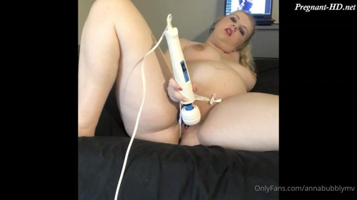 Fan Video 1 – Pregnant Pleasure With My Toy – AnnaBubbly