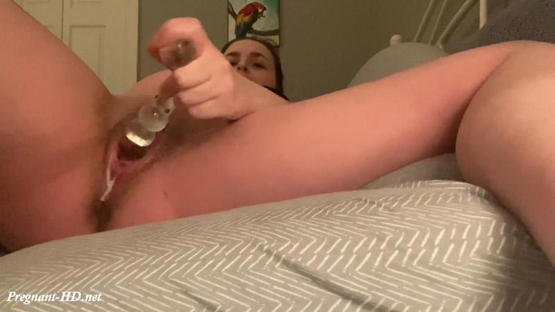 Fan Video 2 – Pregnant Creamy Pussy Pleasure – SweetSugarLips