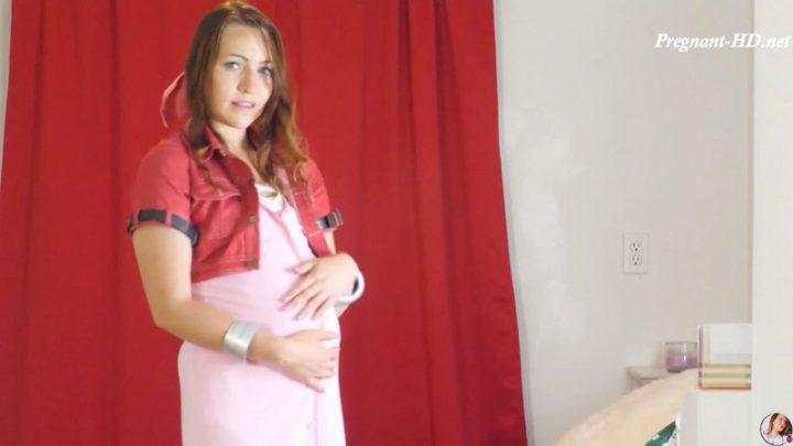 Pregnant Aerith Gives JOI – MissMilaRose
