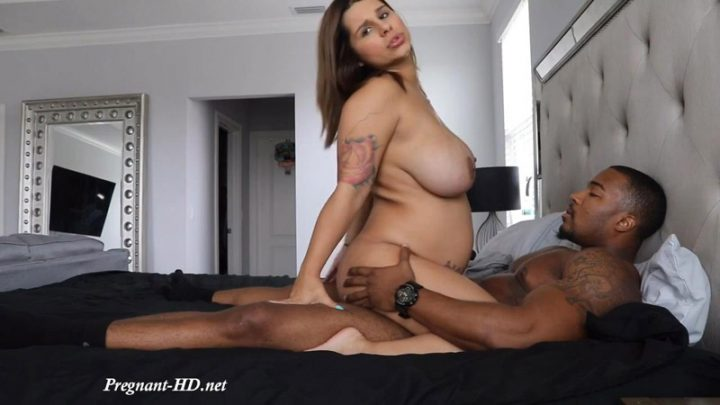 First Pregnant Fucking Video – Crystina Rossi