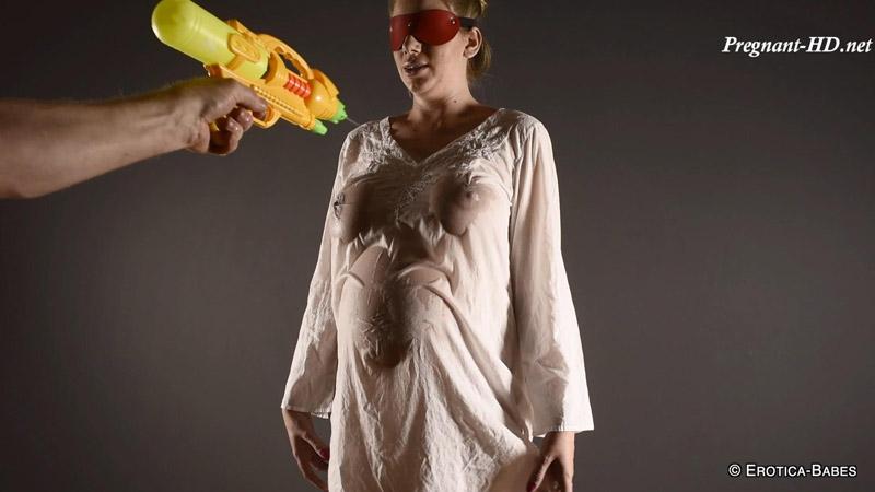 Danielle Maye pregnant water pistol fun – EroticaBabes