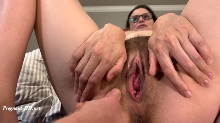 Playing with Priss's Pussy and Asshole – Pregnant Priss