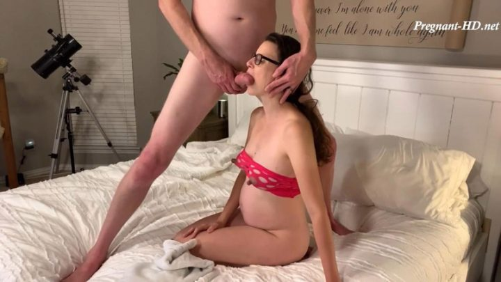 Pregnant MILF Fucked in Mouth and Pussy with Cumshot on her Pregnant Belly – Pregnant Priss