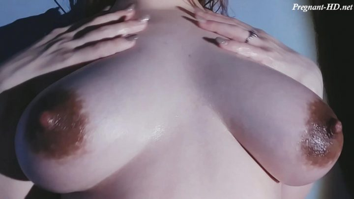 Pregnant boobies oiled up and fondled – Pizzaburgers