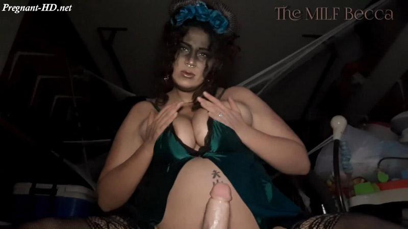 POV Pregnant Cum Fiending Demon Pt 1 – The_MILF_Becca