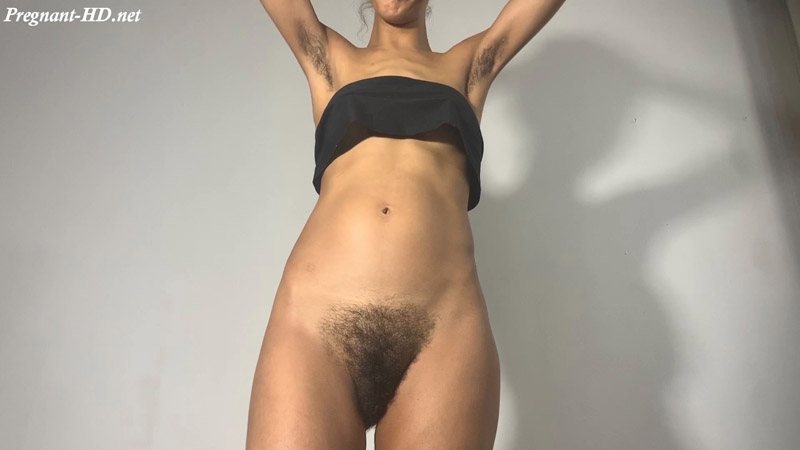 Hairy Pregnant Slap and Bounce Boobs Out – Nymphoto69