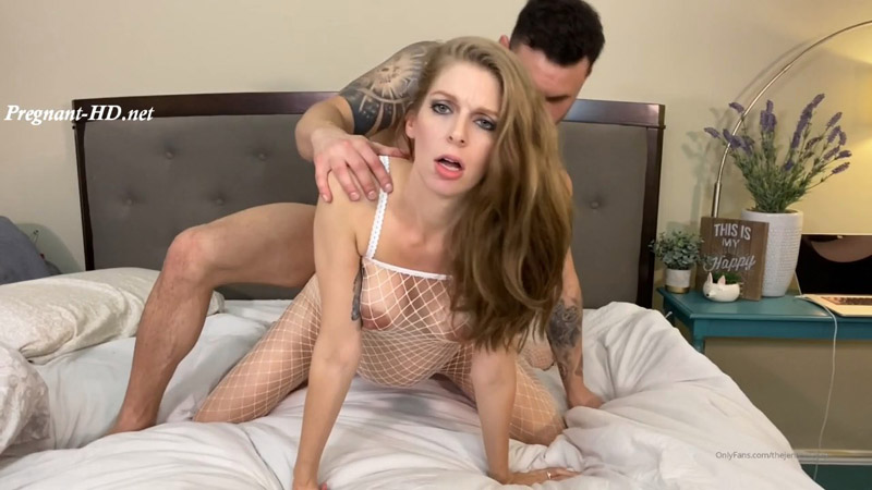 Passionate Pregnant Sex with Facial – TheJensensPlay