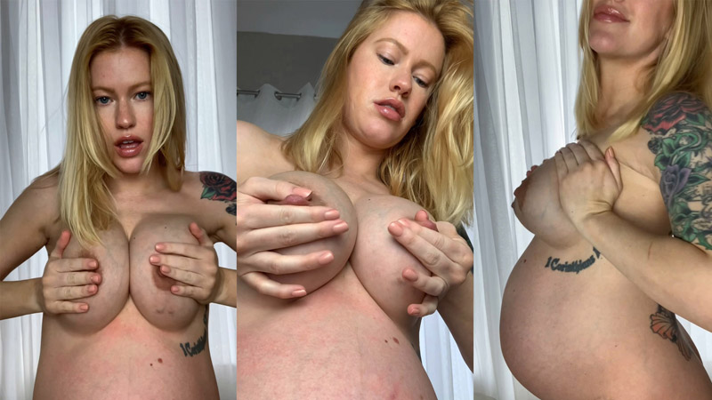 Big pregnant titty play – Lush Bunny