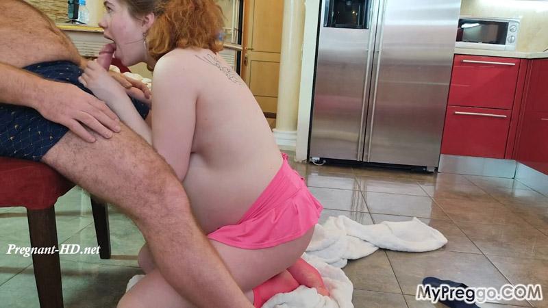 Pregnant Little Alexa Gives an Unforgettable Blowjob! – MyPreggo – Alexa