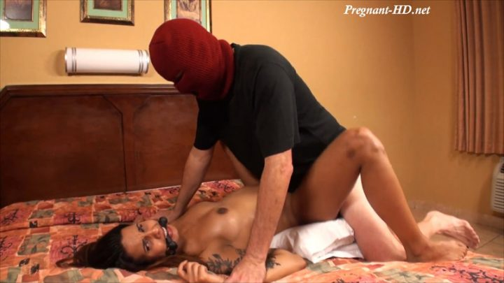 Pregnant Mandy Candy Captured By The Burglar, Fondled, Spanked, Oiled, Fucked And Cum On Belly – Fetish Cartel