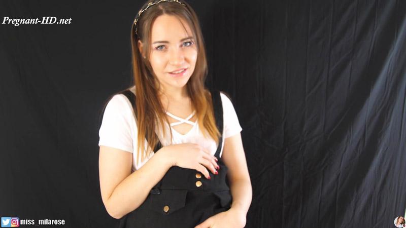 Pregnant Student Seduces Teacher – MissMilaRose