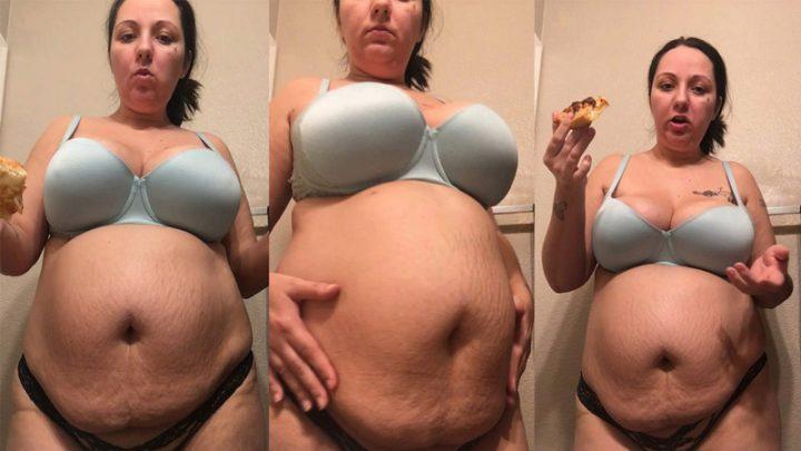 Pregnant Pizza Time – KaylaRose90