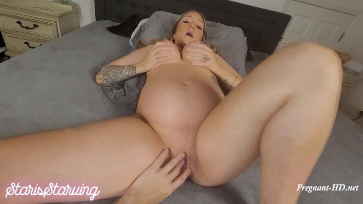 Pregnant Star Love Sucks & Gets Creampie – StarisStarving