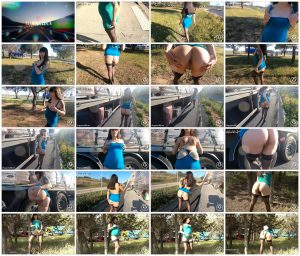 Flashing on a highway rest area – BigDaddy Productions_thumb