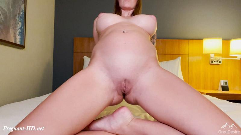 Morning Wake Up – Pregnant Nude Yoga – GreyDesire69