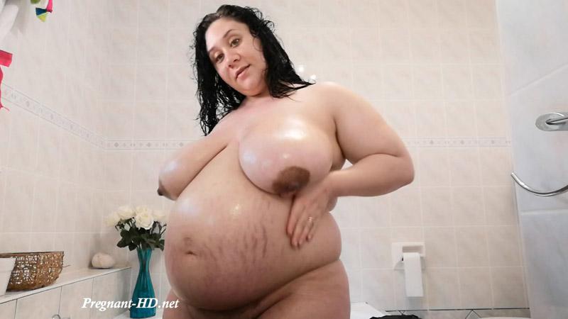 36weeks Pregnant Belly Care – Mikayla C. Jones