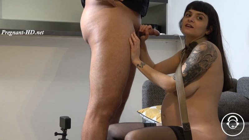 Pregnant wife get's fucked by cop – French_slut